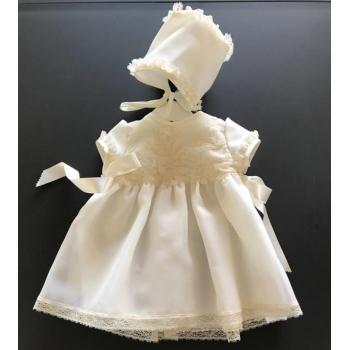 vestido bordado corto