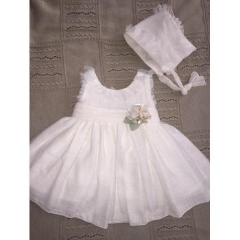 vestido y capota ceremonia