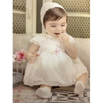 vestido bebé tul