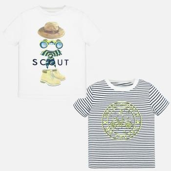 Set camisetas manga corta bebé niño