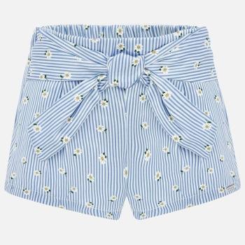 Pantalón corto lazo bebé niña