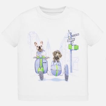 Camiseta manga corta animalitos bebé niño