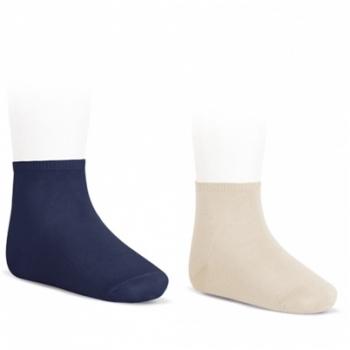 calcetín tobillero algodón elástico