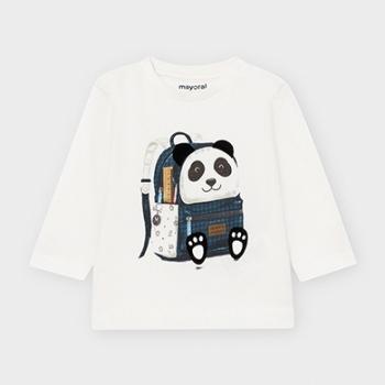 camiseta manga larga mochila