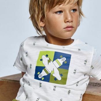 Camiseta ECOFRIENDS manga corta estampada