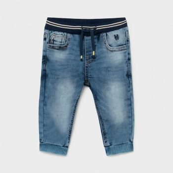 Pantalón jogger soft denim Ecofriends