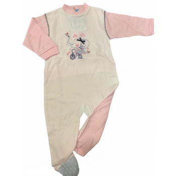pijama elefante rosa