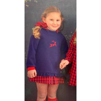 vestido reno camisa