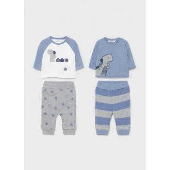 Conjuntos ECOFRIENDS punto 4 piezas recién nacido